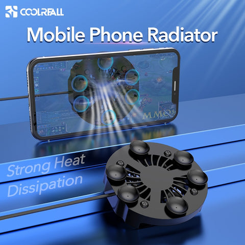 Mobile Phone Radiator Gaming Phone Cooler Heat Sink For iPhone Samsung Huawei