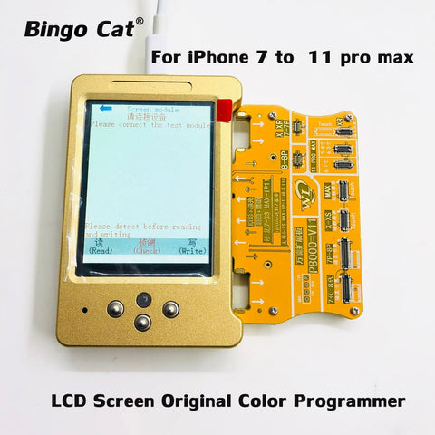 V6 LCD Screen Original Color Programmer Photosensitive Repair Module For X XS 11Pro Max 7 8 plus