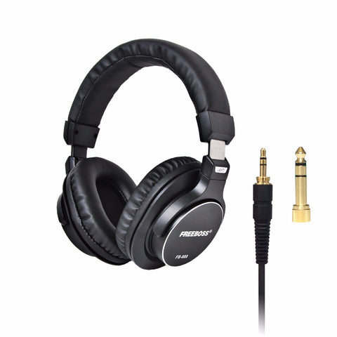 Over-ear Closed 45mm Drivers 3.5mm Plug 6.35mm Adapter Headset