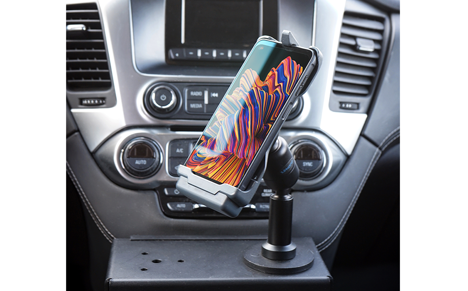 Samsung Galaxy Xcover Pro Charging Cradle with Cigarette Lighter