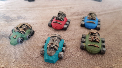 Remote Car Toy Bombs for Gaslands - Digital 3D Printing Files (.STL)