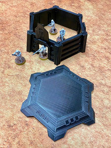 Imperial Command Center for Star Wars Legion - Wargame Terrain - Hexagonal Design