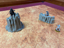Load image into Gallery viewer, Geonosis Desert Rock Spires Terrain for Star Wars Legion Geonosis - Wargaming Terrain