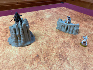 Geonosis Desert Rock Spires Terrain for Star Wars Legion Geonosis - Wargaming Terrain