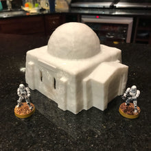 Load image into Gallery viewer, Desert Square House 28mm 32mm - For Star Wars Legion Tatooine