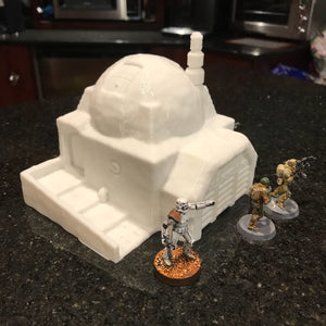 Desert House with Garage 28mm 32mm for Star Wars Legion Tatooine - Wargaming Terrain