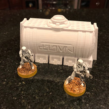 Load image into Gallery viewer, Chemical Tanks 28mm 32mm - Great for Star Wars Legion / Infinity / Warhammer 40k