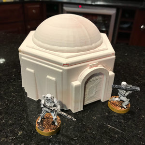 Hexagonal Desert Building for Star Wars Legion 28mm 32mm