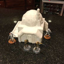 Load image into Gallery viewer, Desert House with Garage 28mm 32mm for Star Wars Legion Tatooine - Wargaming Terrain