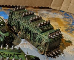 Toy Car Upgrades HO 20mm - Great for Osprey Gaslands / Car Wars - Requires Glue and Paint - Die Cast Cars