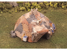 Load image into Gallery viewer, Barbarian Tent Hut in 28mm Scale - Wargaming Terrain