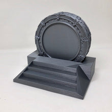 Load image into Gallery viewer, Stargate SG-1 drink coasters the ultimate nerd gift. Cool Beer Coasters make a great geek gift. Gao'uld