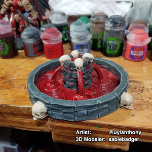 Blood Fountain - Fantasy Wargame Terrain