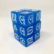 Load image into Gallery viewer, Gaslands Skid Dice Shift / Slide / Hazard / Skid Dice 16mm for Wargaming