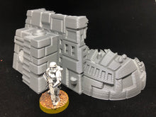 Load image into Gallery viewer, Starship Wreck for Star Wars Legion (One Piece, 28mm scale)