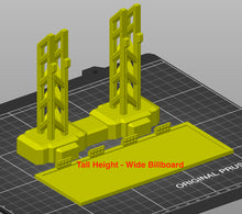 Load image into Gallery viewer, Billboard Digital 3D Printing Files - Steel Looking Beams - HO 20mm - Gaslands