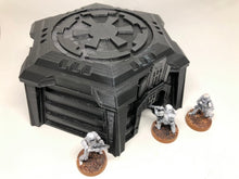 Load image into Gallery viewer, Imperial Command Center for Star Wars Legion - Wargame Terrain - Hexagonal Design