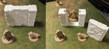 Load image into Gallery viewer, Tilestone Walls for Fantasy Medieval Gaming - Dungeons and Dragons and Frostrgrave -  Digital Design 3D Printing file - by SableBadger