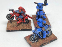 Load image into Gallery viewer, Gaslands Bike Motorcycle - HO Scale - Set of 3  - Great Post Apocalyptic Car Combat Game
