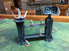 Load image into Gallery viewer, Modular Towers and Walkways for Science Fiction Wargaming - Start Wars Legion