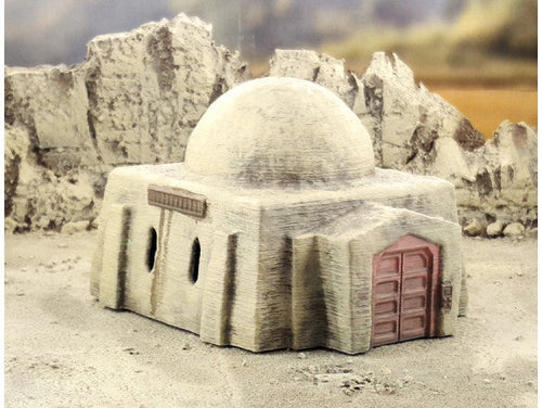 Desert Square House 28mm 32mm - For Star Wars Legion Tatooine