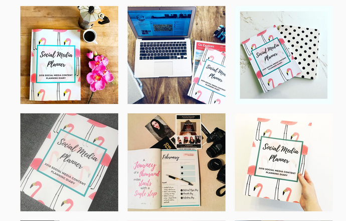 Challenge: Could you be the most creative Social Media Planner Unboxer? and win a prize?