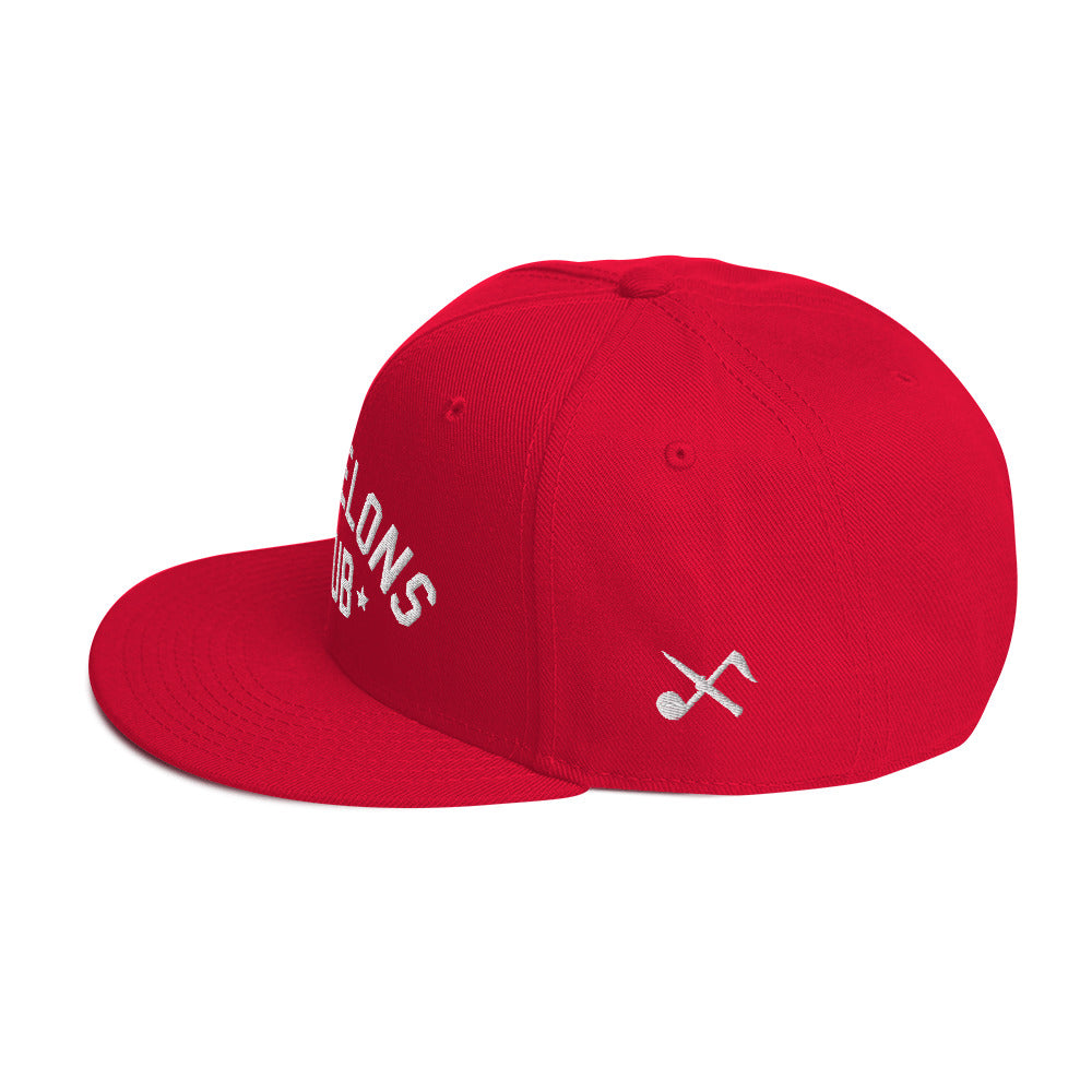 Welcome To The Club Snapback (Red)
