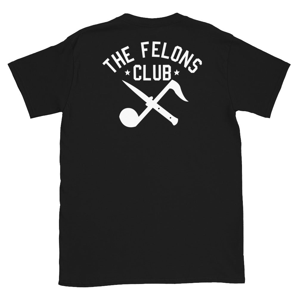 Felons Club Logo T-Shirt (Black)