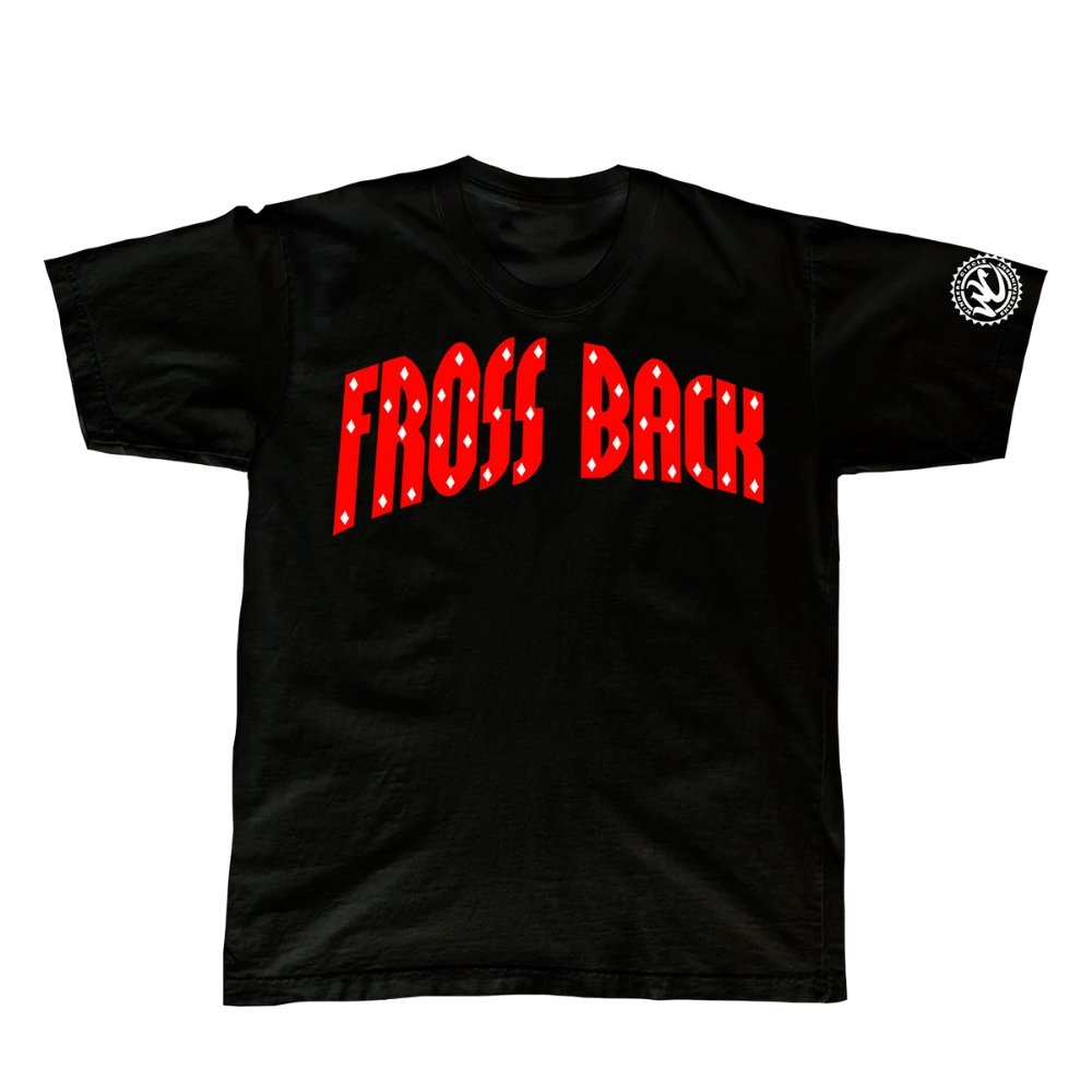 Eli Fross • Fross Back • Black Champion Tee - WinnersCircleEntStore