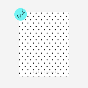 Studio Lemonade Monogram Notecards