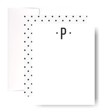 Load image into Gallery viewer, Studio Lemonade Monogram P Notecards