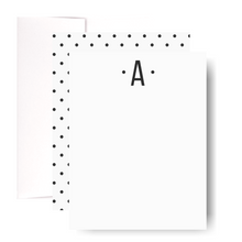Load image into Gallery viewer, Monogram Notecard Set