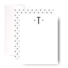 Load image into Gallery viewer, Studio Lemonade Monogram T Notecards G