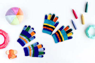 Kids Rainbow Gloves
