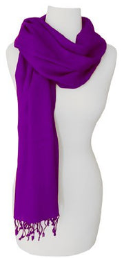 Light and Soft Touch Pure Pashmina Wool Shawls Wraps Scarves