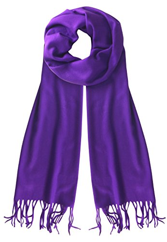 B1852-Cash-Feel-Scarf-Purple-OS