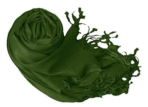 Forest Green Pashmina Scarves