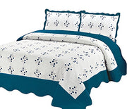 A2800-White-Quilt-Floral-Tur-King-KL