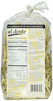 Al Dente Garlic Parsley Fettuccine, 12 oz