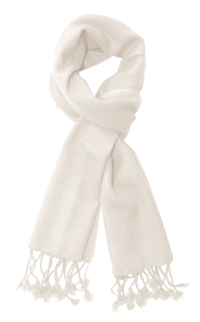 cashscarf-Off White