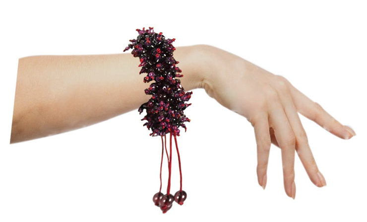 Jewelry Cranberry GemStone Bracelet