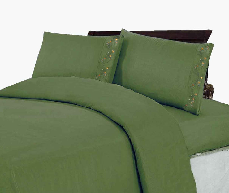 A2281-600-Sheet-Set-Hunt-Green-Twin-KL