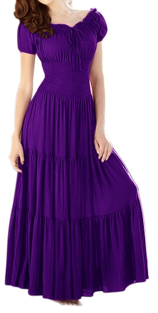 A2629-Smock-Maxi-Dress-Pur-Med-KL