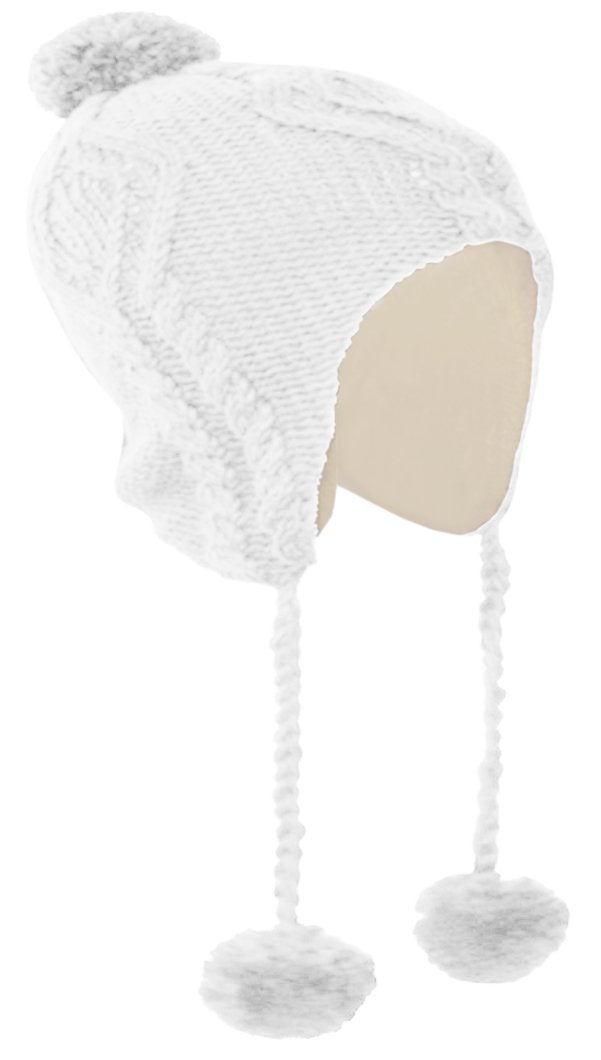 A3515-Solid-Kids-Pom-Hat-White