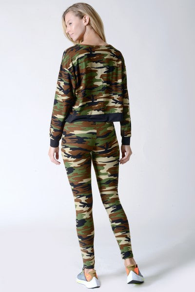 Brooklyn Camo Leggings