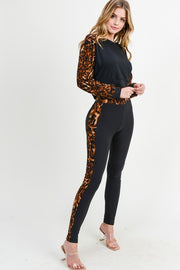 Brooklyn Leopard 2-Piece Outfit