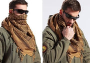 Chic Fashionable 100% Cotton Soft Unisex Shemagh Keffiyeh Face Coverup Scarf