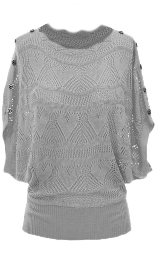 A208-Knit-Sweater-Gray-Small-Med-SRI