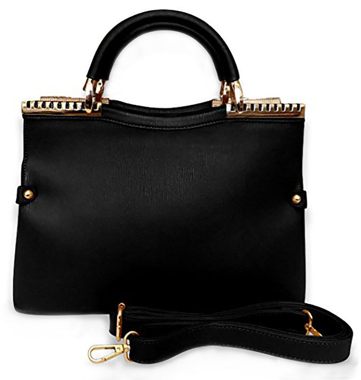 A2818-MADISON-Handbag-Black-KL