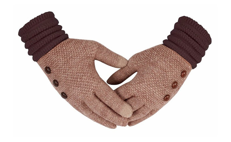 B1386-Button-Gloves-Pink-MRS